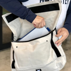 Messenger Bag - Light Grey