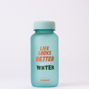 WEMUG Drink Bottle F550 Quote, Tritan, BPA Free (3 colors) - WEMUG
