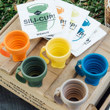 Load image into Gallery viewer, WEMUG On-the-go Foldable Sili Cup with reusable Tyvek bag - WEMUG