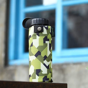 Camo Jacket Tritan BPA Free Water Bottle - WEMUG
