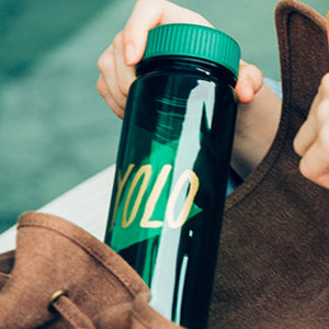 WEMUG Hashtag Lifestyle Water Bottle - S500 #BYOB - WEMUG