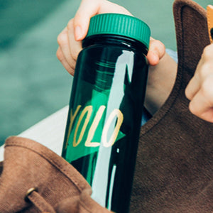 WEMUG Hashtag Lifestyle Water Bottle - S500 #YOLO - WEMUG