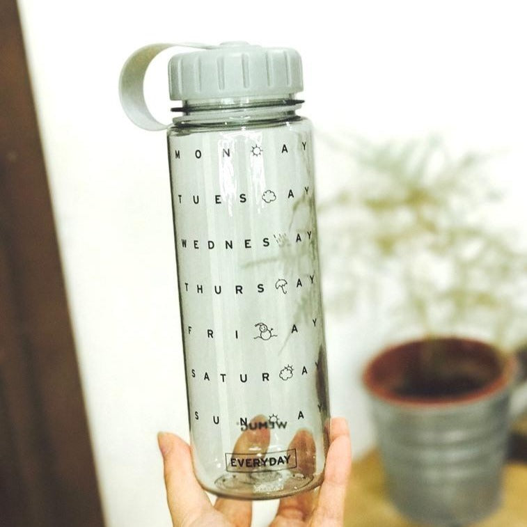 Water Bottle Everyday - Clear - WEMUG