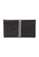 Load image into Gallery viewer, Travel Wallet - Black - h-a-n-d