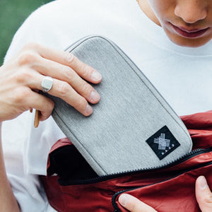 Gray Urban Wallet - WEMUG