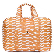 Load image into Gallery viewer, Travel Duffel Bag - Zig Zag Orange