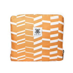 Travel Duffel Bag - Zig Zag Orange - WEMUG