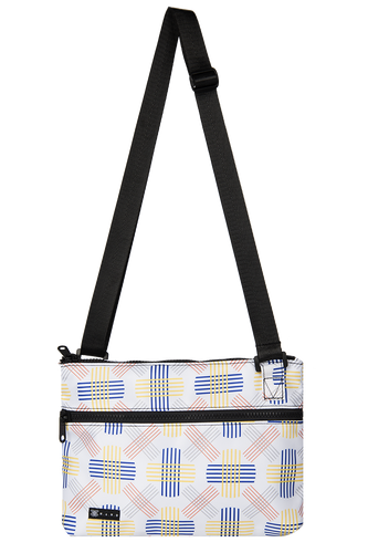 Water repellent, Light weight, Side Bag-Berlin White - WEMUG