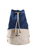 Load image into Gallery viewer, Trip Canvas Backpack - Blue (for him) - WEMUG