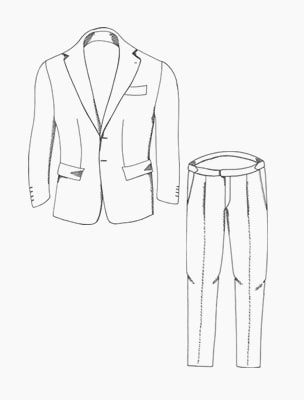 Made to Order Suits | 40 Colori Made in Italy Menswear