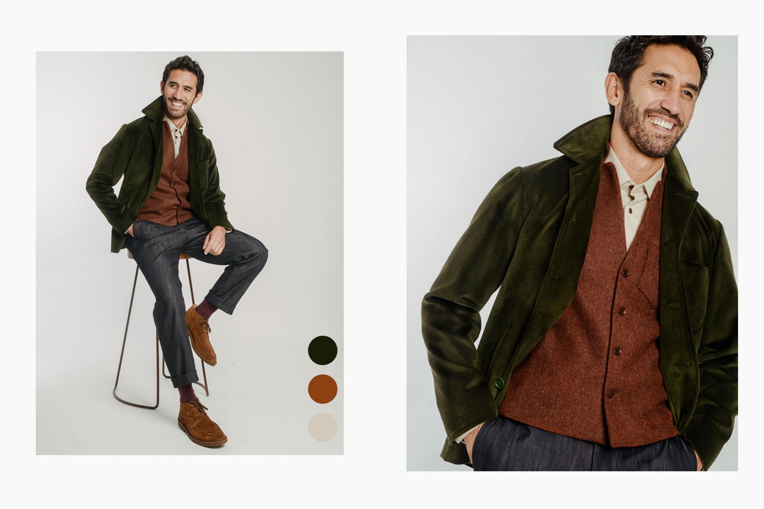 AW Lookbook | 40 Colori Made in Italy