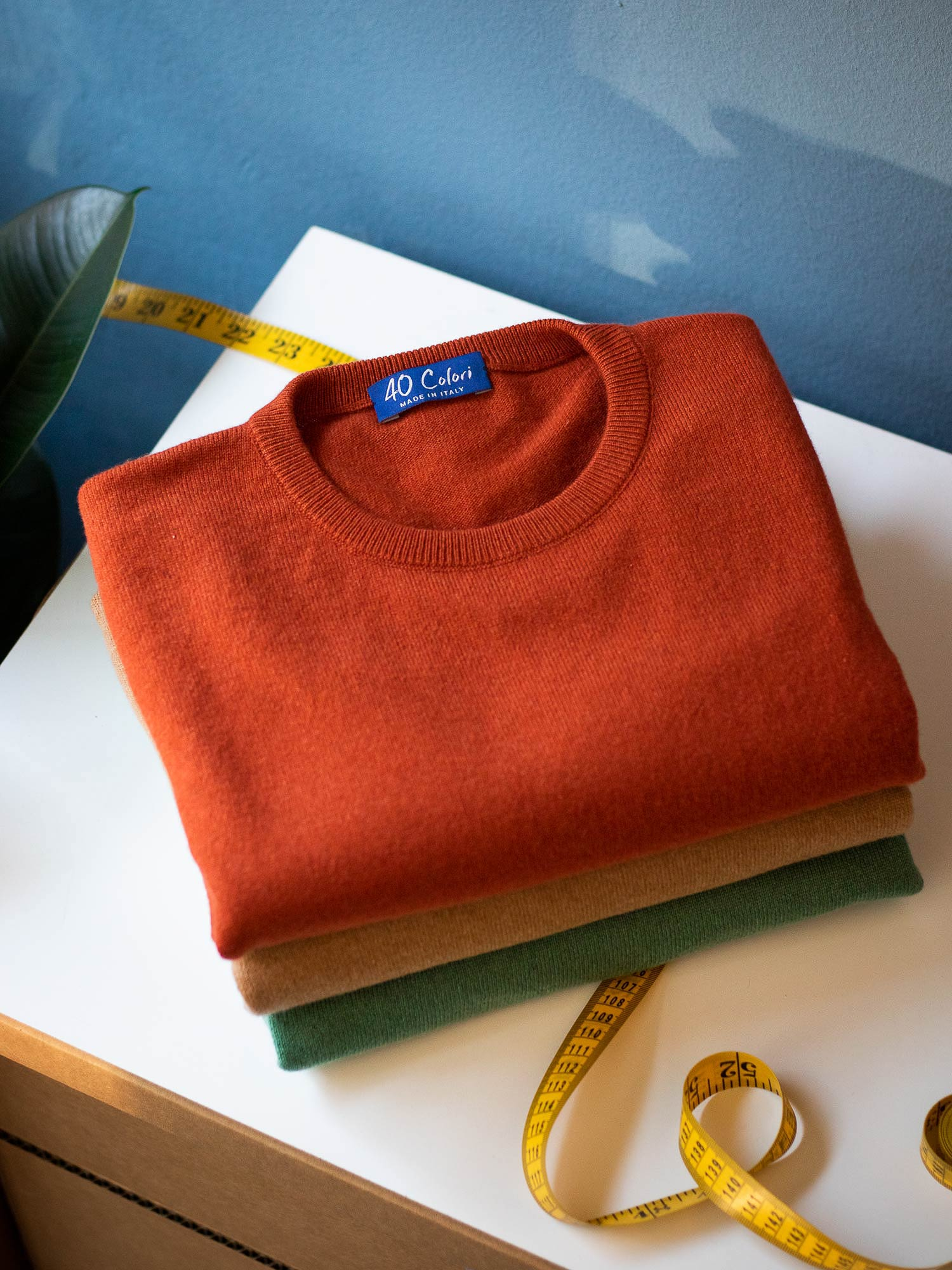 40 Colori Services - Made to Measure Knitwear