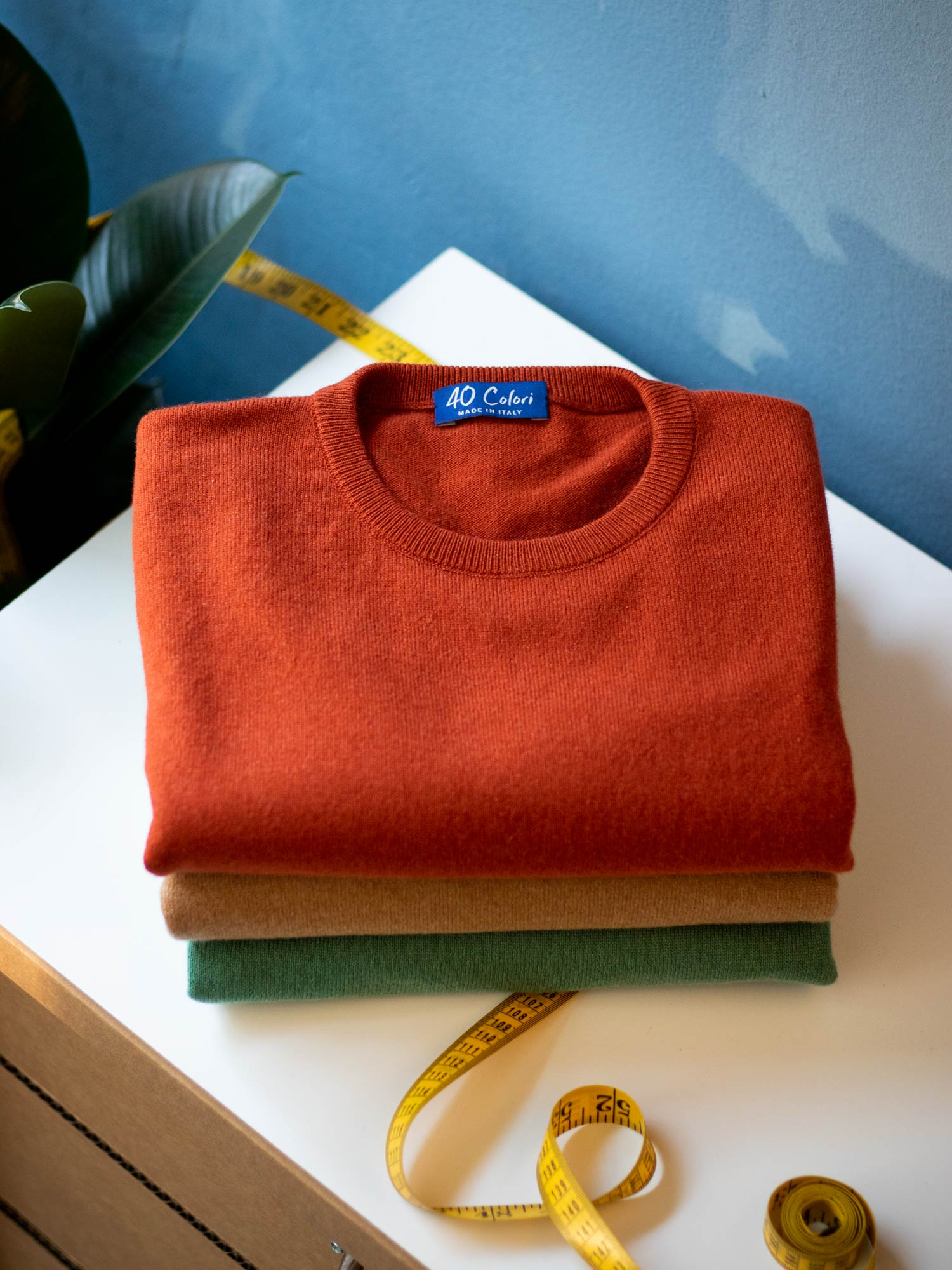 40 Colori Services - Made to Order Knitwear