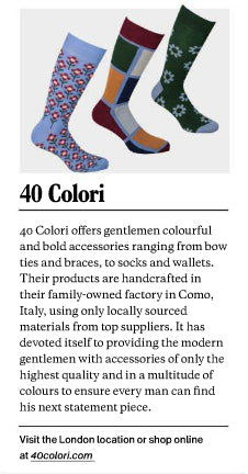 ESQUIRE for 40 Colori