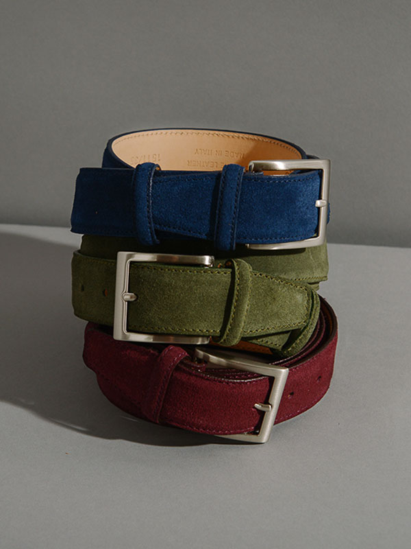 Men's Belts | 40 Colori Made in Italy Menswear