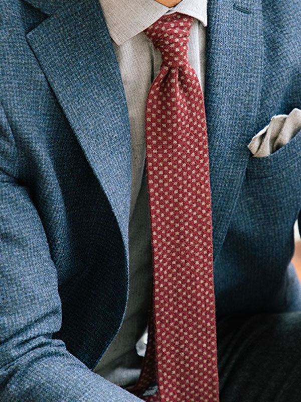 Men's Knitted Ties | 40 Colori Made in Italy Menswear