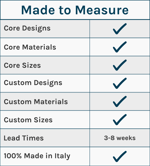 40 Colori Services - Made to Measure