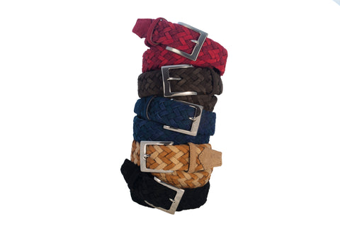 Rope and Suede Belts