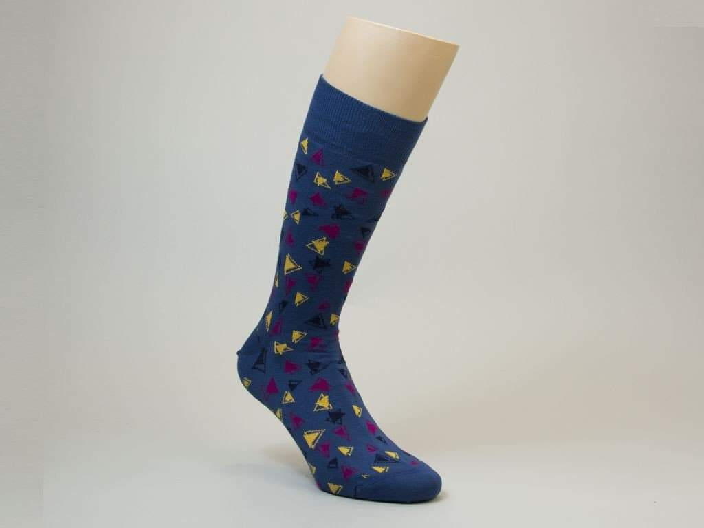 Triangles Organic Cotton Socks