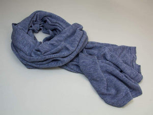 Solid Knitted Linen Scarf