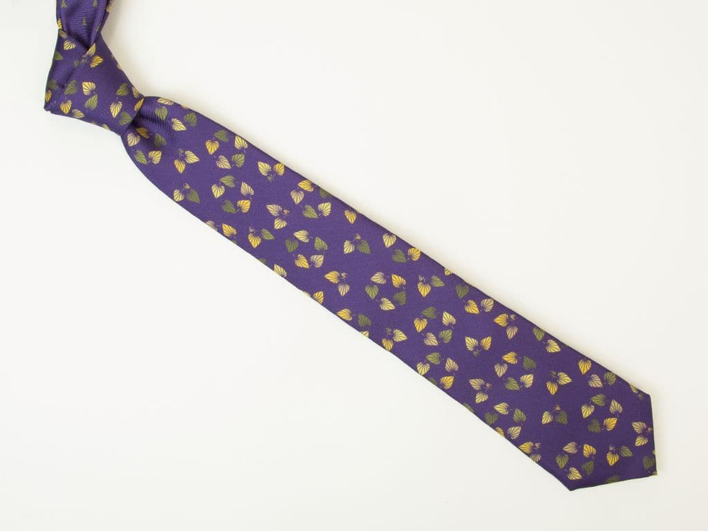 Birch Printed Silk Tie