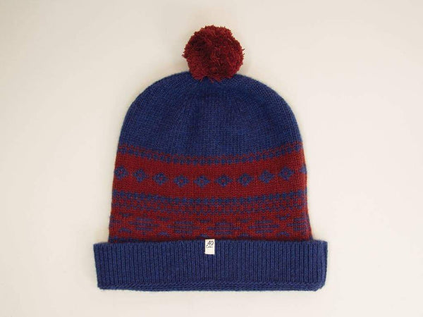 NORWEGIAN WOOL AND CASHMERE BEANIE