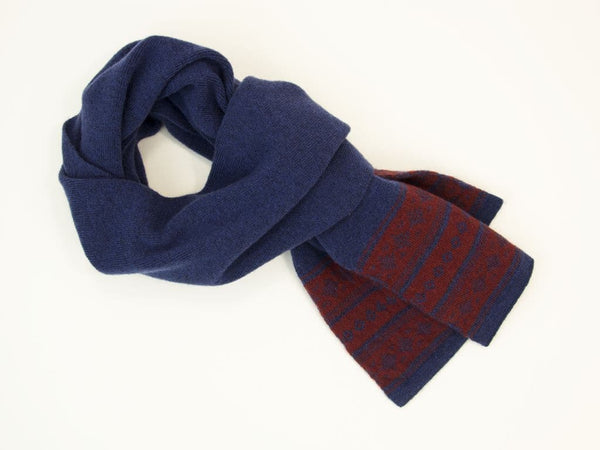 NORWEGIAN WOOL AND CASHMERE SCARF