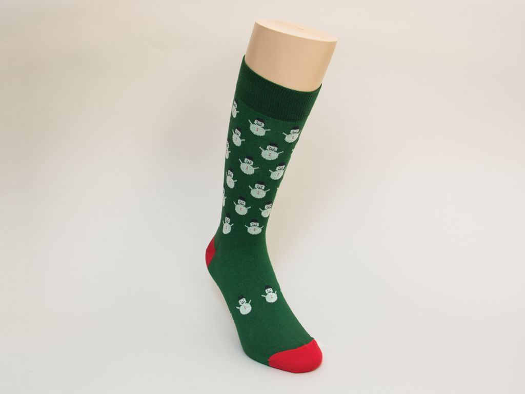 Snowman Organic Cotton Socks