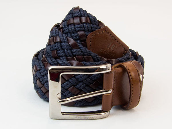 ROPE AND LEATHER BELT