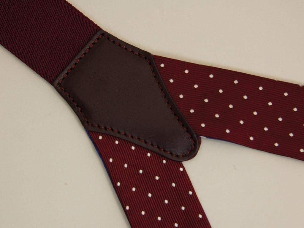 Dotted Silk Braces