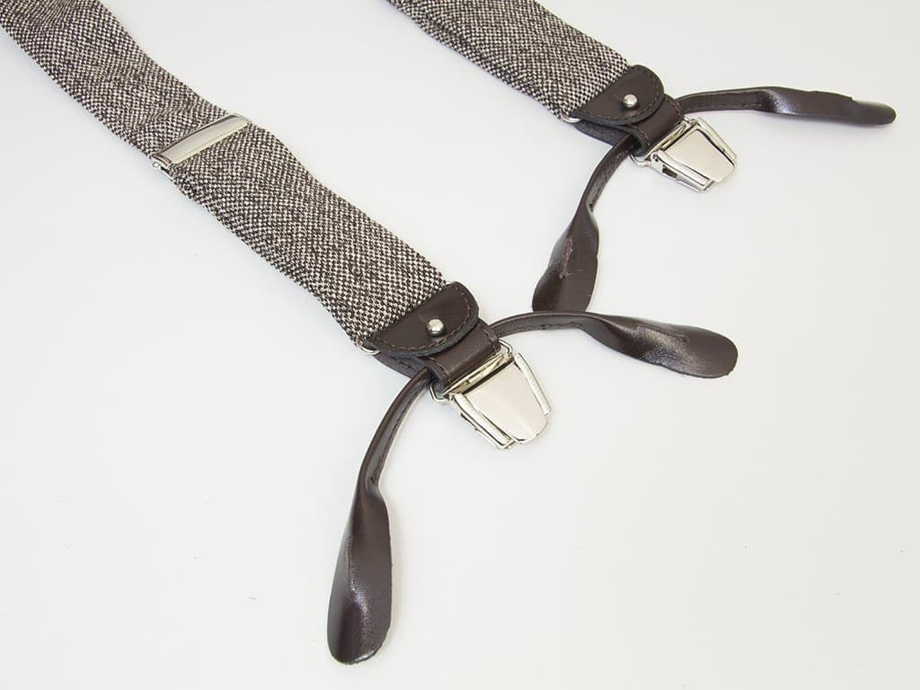 Dotted Linen Braces