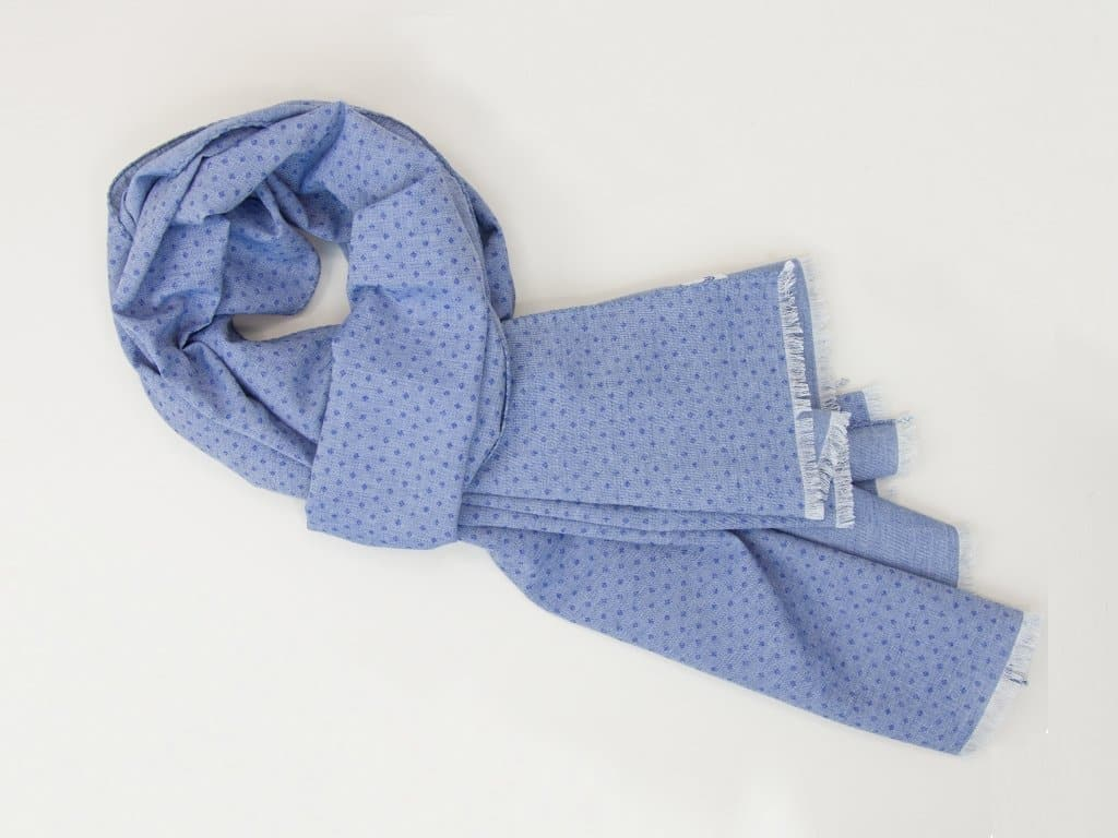 Diamond Printed Cotton Scarf