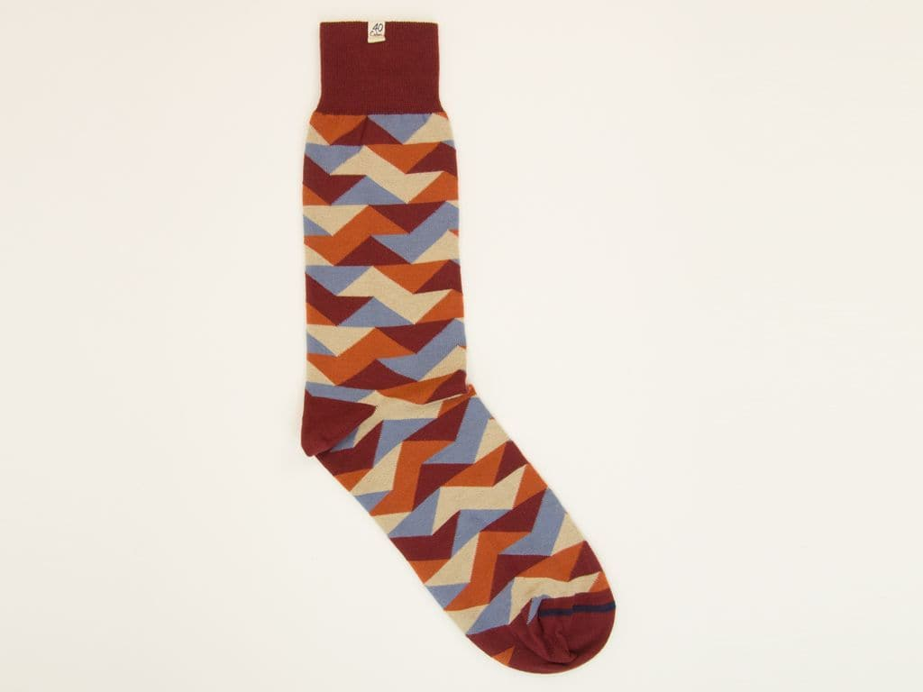 Geometric Organic Cotton Socks