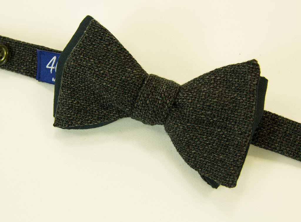 Donegal Wool Butterfly Bow Tie