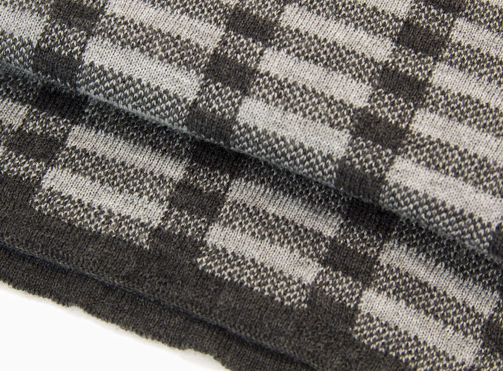 Geometric Wool Scarf