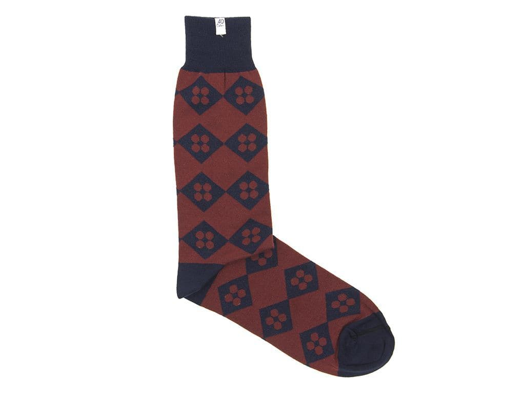Diamonds & Dots Organic Cotton Socks