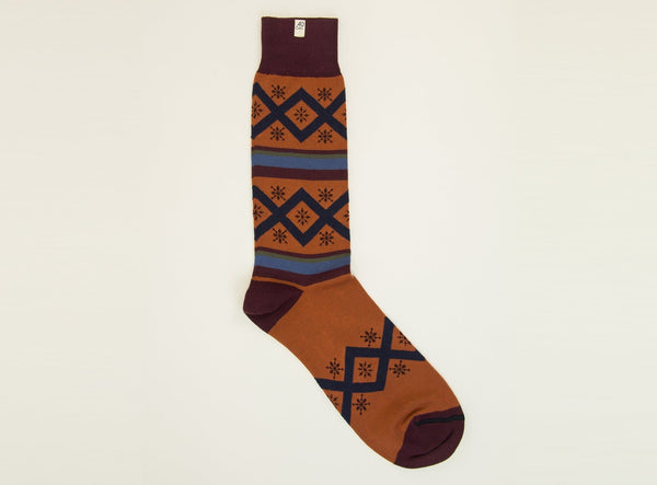 CRISS-CROSS ORGANIC COTTON SOCKS
