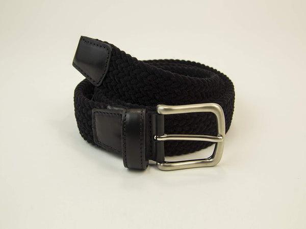 SOLID ELASTICATED VELVET BELT