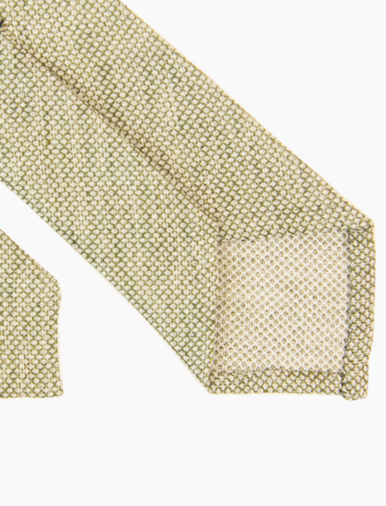 Dotted Linen Tie