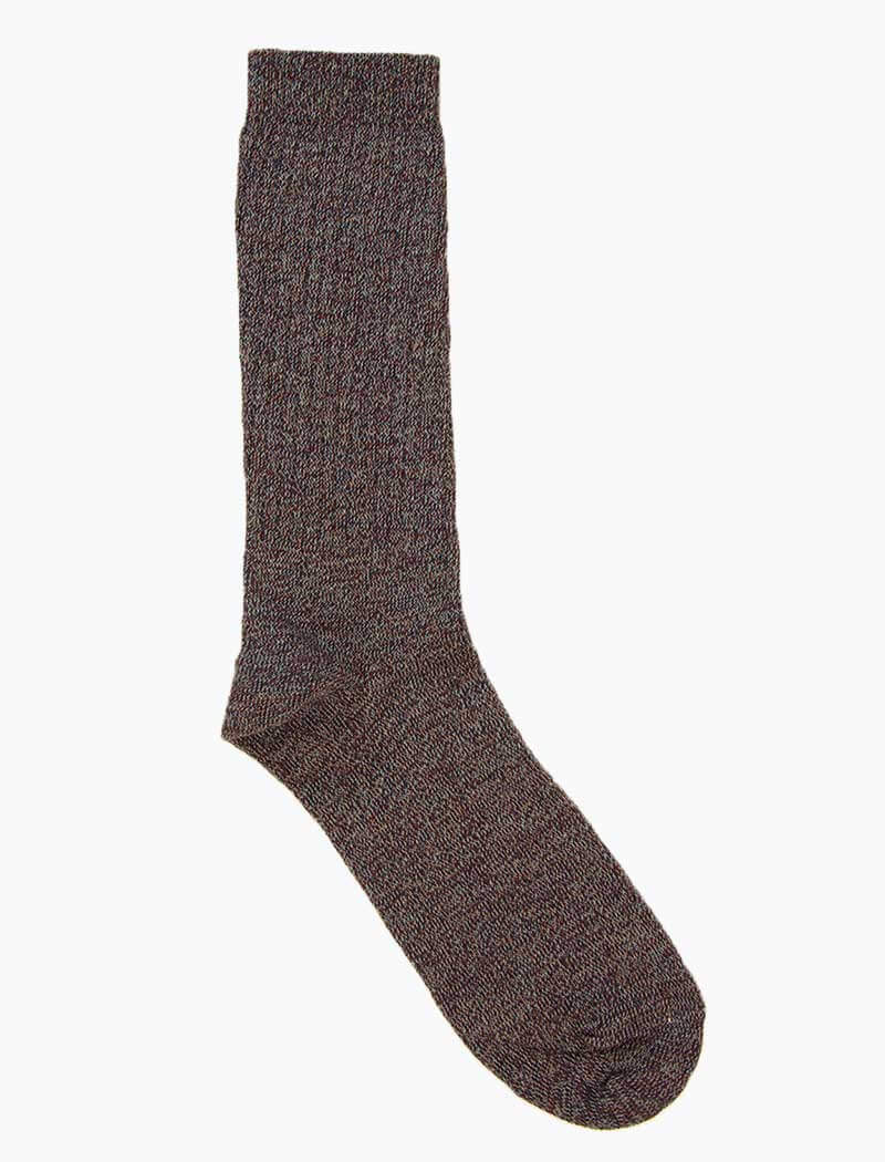 Plum Thick Organic Cotton Socks | 40 Colori