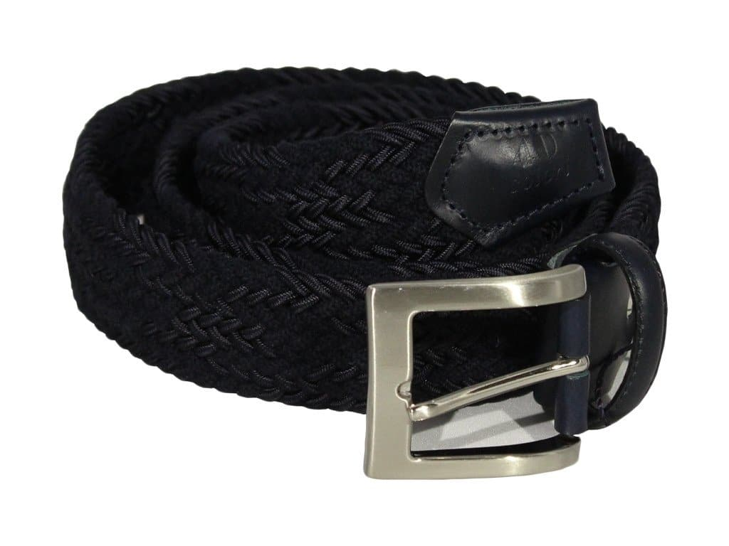 Double Threaded Wool Elasticated Belt