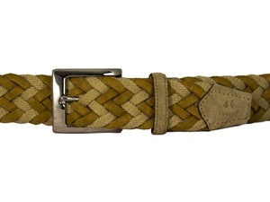 Rope & Suede Belt