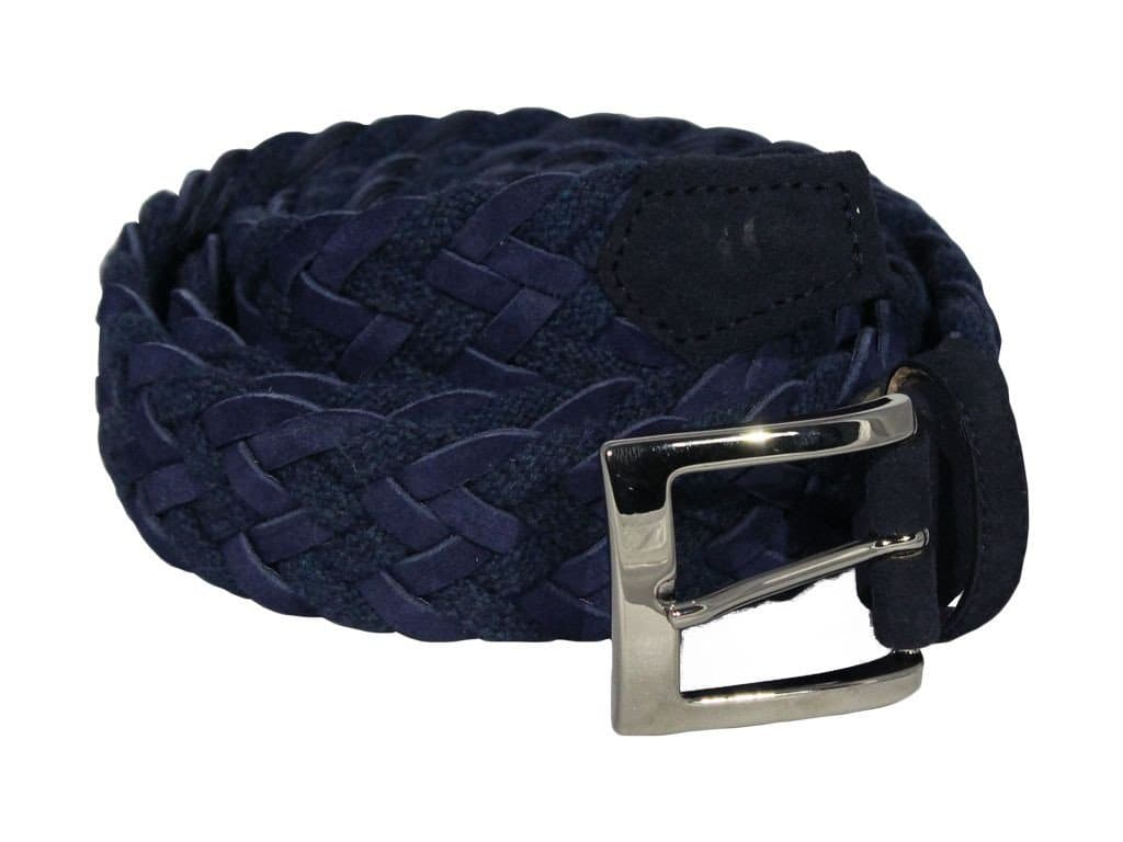 ROPE AND SUEDE BELT