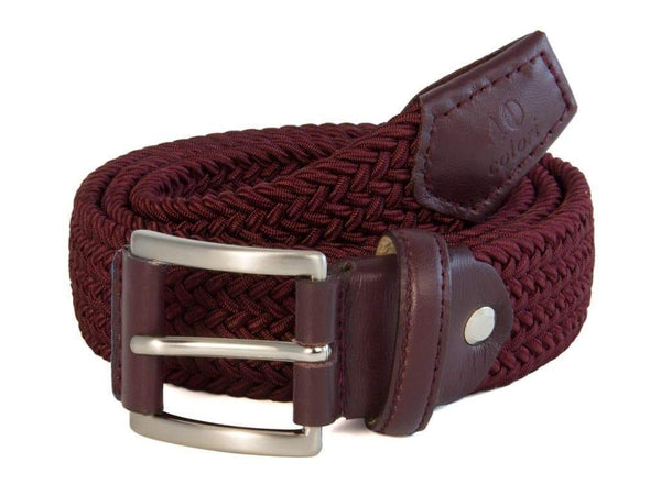 SOLID ELASTICATED WOVEN BELT