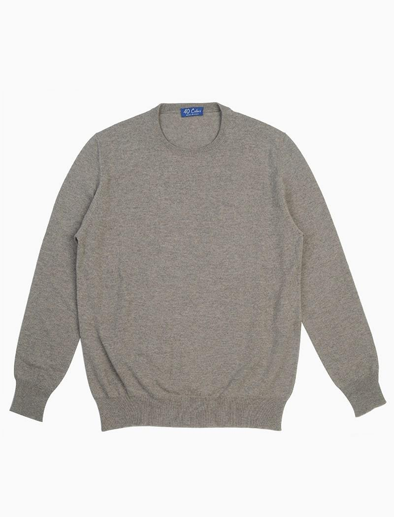 Peppercorn Crew Neck Cashmere Jumper | 40 Colori