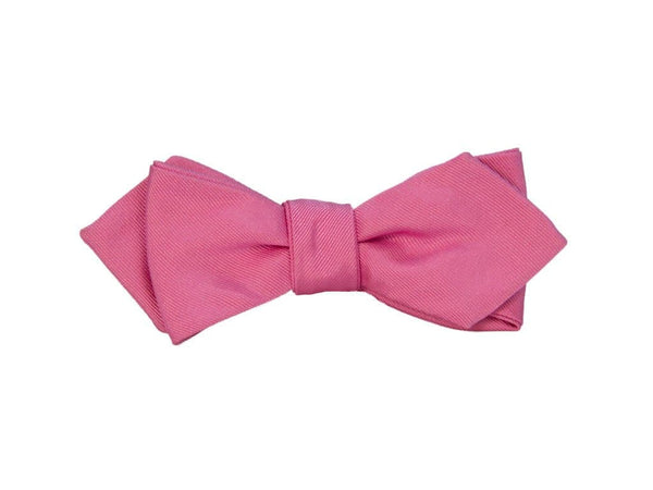 SOLID SILK SPENCER BOW TIE