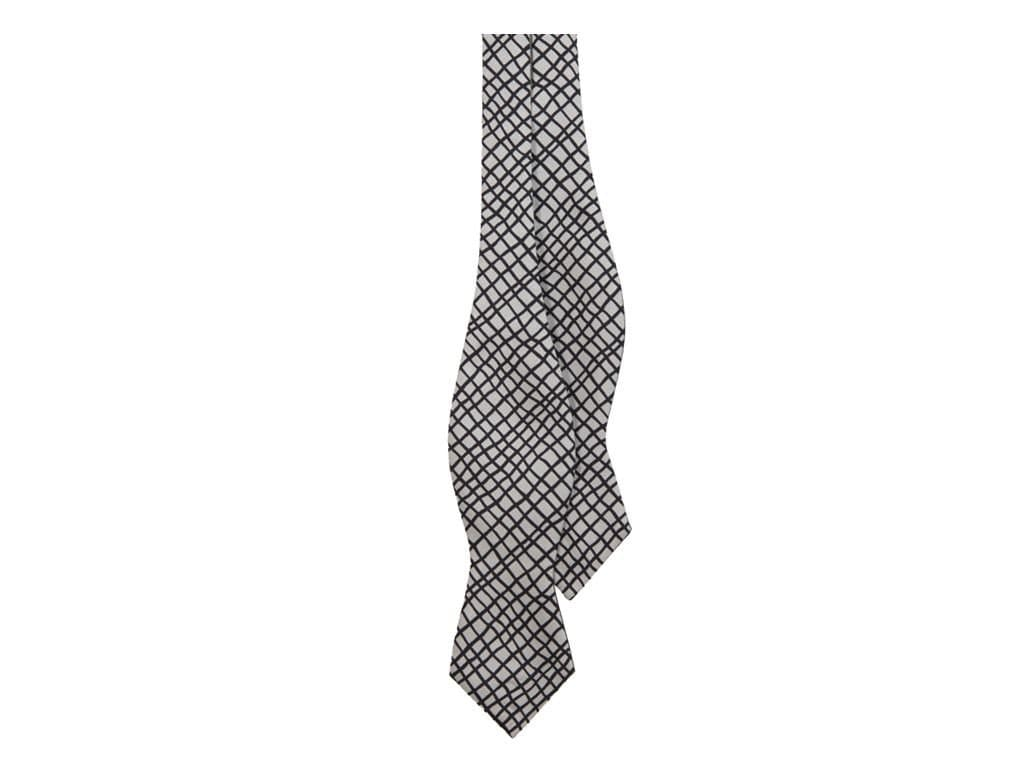 NET SILK SPENCER BOW TIE