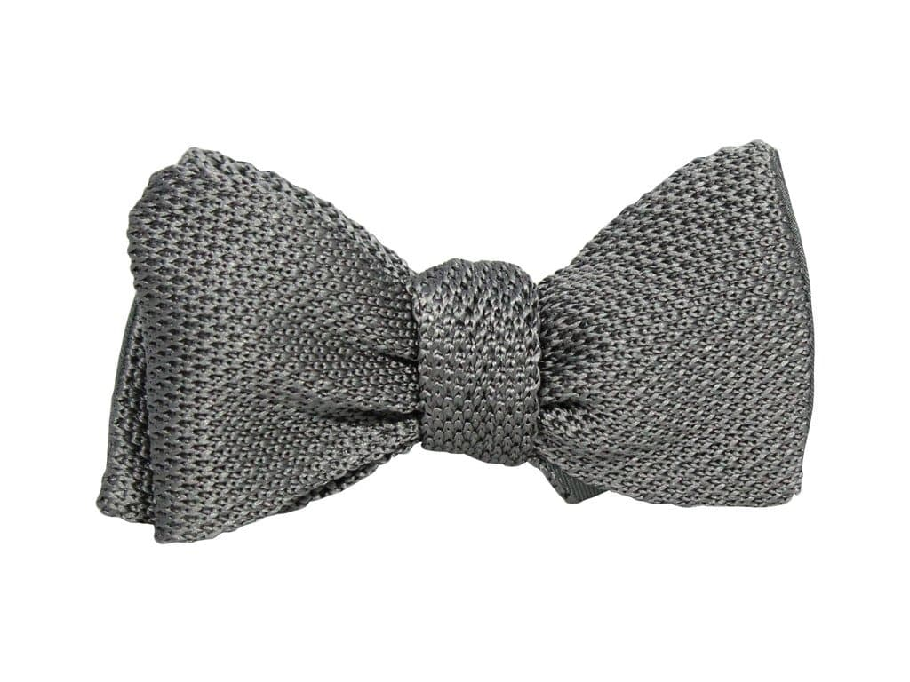 Knitted & Woven Silk Butterfly Bow Tie