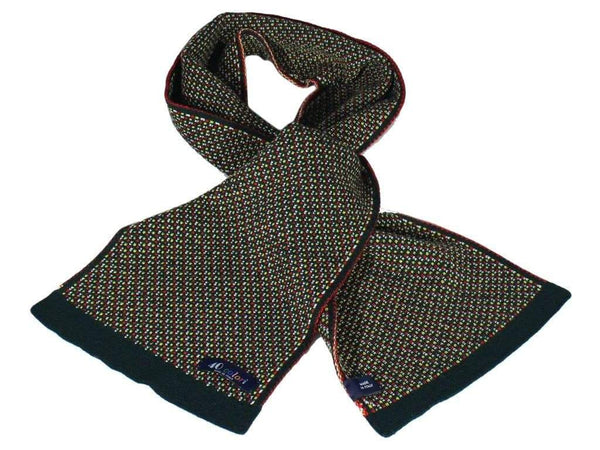 BORDEAUX WOOL SCARF