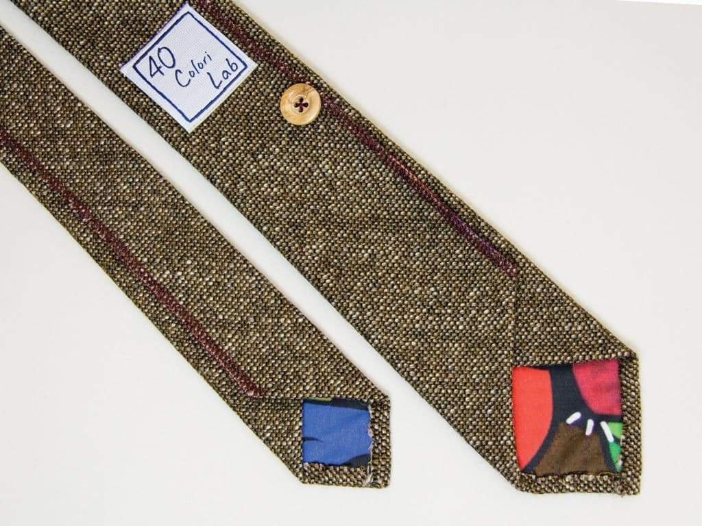 DOTTED WOOL TIE